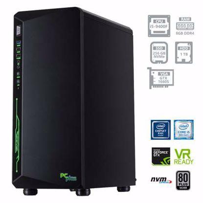 Fotografija izdelka PCPLUS Gamer i5-9400F 8GB 256GB NVMe SSD + 1TB HDD GTX1660 SUPER 6GB DOS