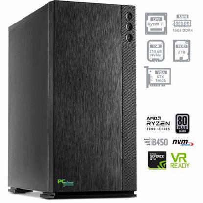 Fotografija izdelka PCPLUS Dream machine Ryzen 7 3700X 16GB 250GB NVMe SSD + 2TB HDD GTX 1660 SUPER 6GB DOS