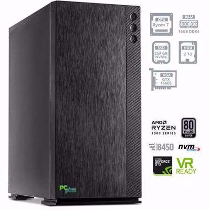 Fotografija izdelka PCPLUS Dream machine Ryzen 7 3700X 16GB 250GB NVMe SSD + 2TB HDD GTX 1660 SUPER 6GB W10