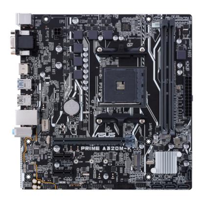 Fotografija izdelka ASUS PRIME A320M-K, DDR4, SATA3, USB3.1Gen1, AM4 mATX