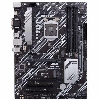 Fotografija izdelka ASUS PRIME B460-PLUS, DDR4, SATA3, USB3.2Gen1, HDMI, LGA1200 ATX
