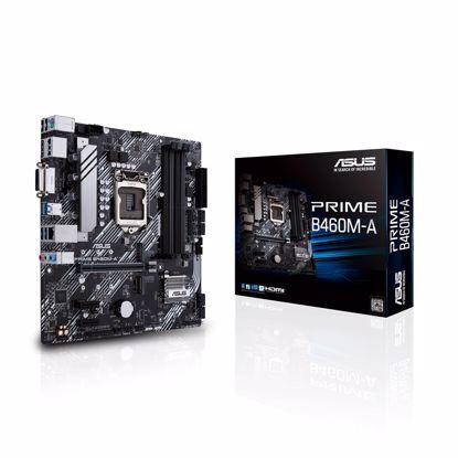 Fotografija izdelka ASUS PRIME B460M-A, DDR4, SATA3, USB3.2Gen1, DP, LGA1200 mATX