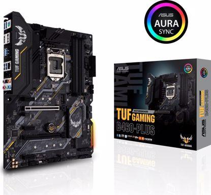 Fotografija izdelka ASUS TUF GAMING B460-PLUS, DDR4, SATA3, USB3.2Gen1, DP, LGA1200 ATX