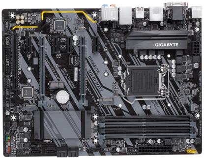 Fotografija izdelka GIGABYTE  H370 HD3, DDR4, SATA3, USB3.1Gen2, HDMI, LGA1151 ATX