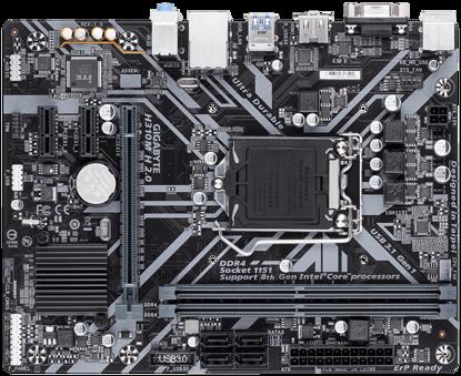 Fotografija izdelka GIGABYTE H310M H 2.0, DDR4, SATA3, HDMI, USB3.1Gen1, LGA1151 mATX