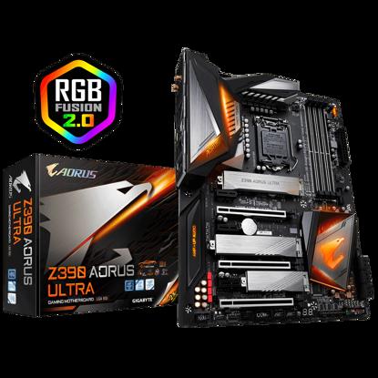 Fotografija izdelka GIGABYTE Z390 AORUS ULTRA, DDR4, SATA3, USB3.1Gen2, HDMI, LGA1151 ATX