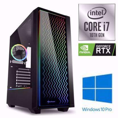 Fotografija izdelka iGamer Core i7-10700F / 16GB / SSD 500GB NVMe / HDD 3TB / RTX 3060 12GB / W10PRO