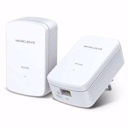 Fotografija izdelka MERCUSYS AV1000 Gigabit Powerline Starter kit (MP500) 1000Mbps žični adapter