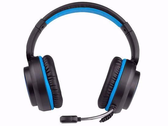 Fotografija izdelka Slušalke Gaming TRACER GAMEZONE Dragon blue LED