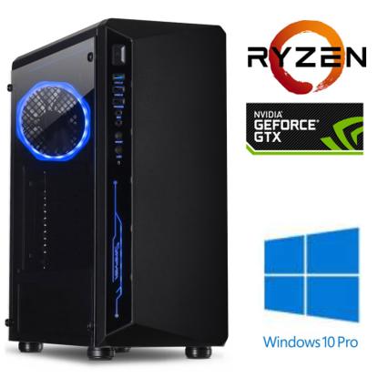 Fotografija izdelka @Gamer Ryzen5 3600 / 16GB / SSD 250GB  NVMe / HDD 2TB / GTX 1660-6GB SUPER / W10PRO