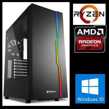 Fotografija izdelka @Gamer Ryzen7 3700X / 16GB / SSD 500GB  NVMe / HDD 3TB / AMD RX6700XT-12GB OC / W10PRO