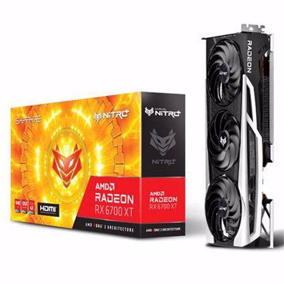 Fotografija izdelka SAPPHIRE Radeon RX 6700 XT 12GB GDDR6 (11306-01-20G) NITRO+ gaming grafična kartica