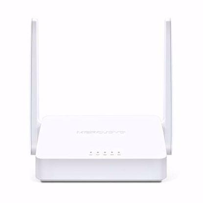 Fotografija izdelka MERCUSYS WLAN MW300D 300 Mbps brezžični usmerjevalnik + ADSL2 modem-router