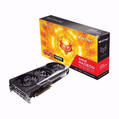 Fotografija izdelka SAPPHIRE Radeon RX 6700 XT 12GB GDDR6 NITRO+ gaming grafična kartica