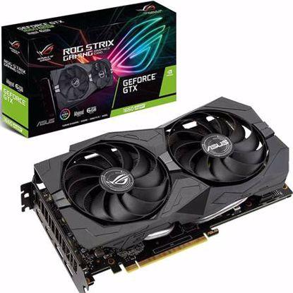 Fotografija izdelka ASUS GeForce GTX 1660S ROG STRIX 6GB DDR6 OC A6G (90YV0DW1-M0NA00) gaming grafična kartica