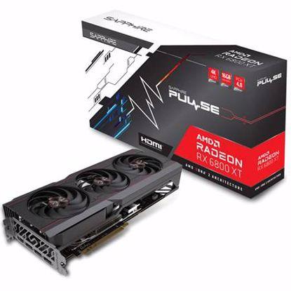 Fotografija izdelka SAPPHIRE PULSE AMD Radeon RX 6800 XT 16GB GDDR6 RDNA2 OC gaming grafična kartica