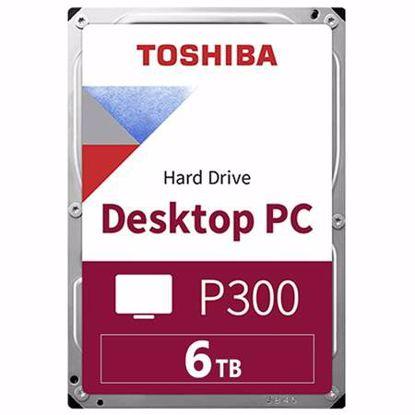 "Fotografija izdelka TOSHIBA P300 6TB 3,5"" SATA3 128MB 5400obr/min (HDWD260UZSVA) trdi disk"
